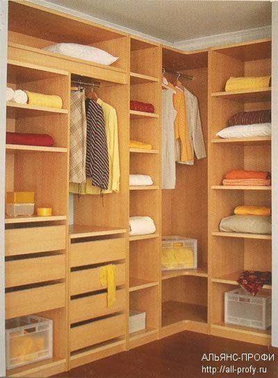 Фото гардеробных комнат на заказ от производителя. идеи и пр.