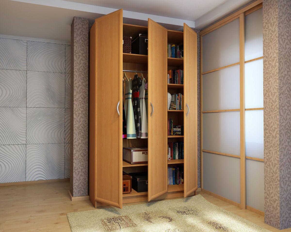 Шкафы распашные - идеямебель.