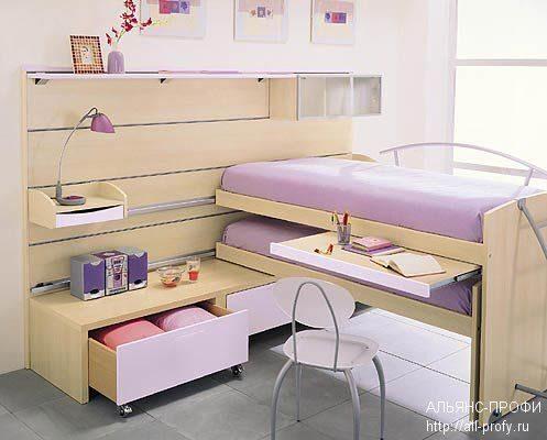 Дизайн кроватей в детскую комнату