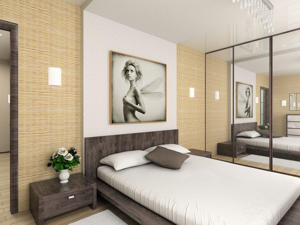 Ремонт в спальне своими руками фото варианты